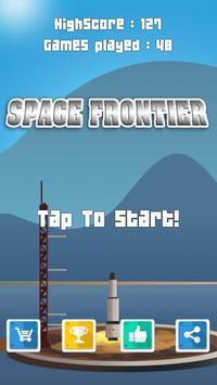 Rocket Space frontier 2017 poster