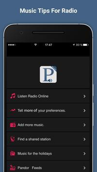 Tips Free Pandora Radio Music poster