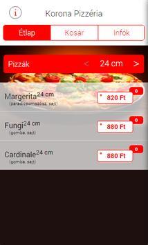 Korona pizzéria screenshot 2