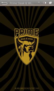 Prime Steakhouse poster