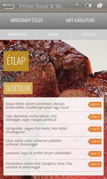Prime Steakhouse apk screenshot