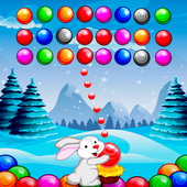 Bubble Shooter Easter Bunny icon