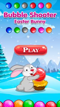 Bubble Shooter Easter Bunny poster
