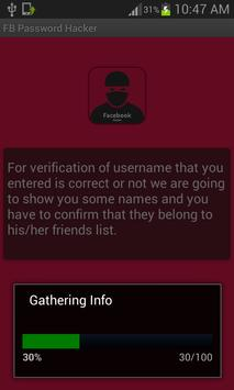 Hacker for FB prank apk screenshot
