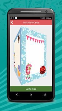 Birthday Invitation Cards Pro screenshot 1