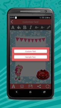 Birthday Invitation Cards Pro screenshot 2