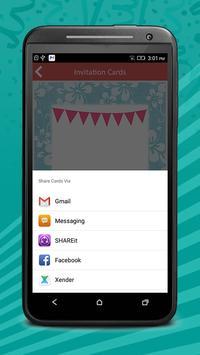 Birthday Invitation Cards Pro screenshot 7