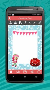 Birthday Invitation Cards Pro screenshot 4
