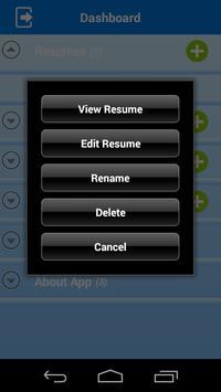 Free Resume Builder screenshot 3
