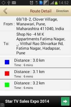 GPS Route Tracker screenshot 1