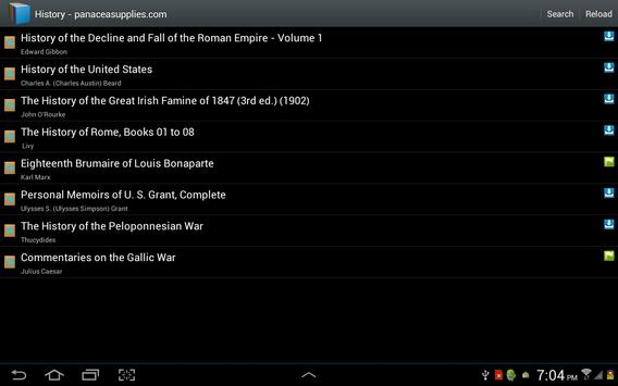 Free books to download & read apk screenshot