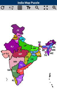 India map puzzle apk download free puzzle game for android india map puzzle poster gumiabroncs Image collections