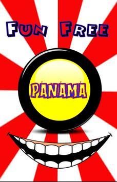 panama button poster
