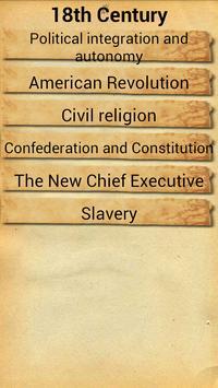 History of USA poster