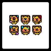 メール素材 - ライオン(キャラクタ) icon