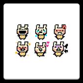 メール素材 - うさぎ(キャラクタ) icon