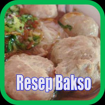 Resep Bakso poster