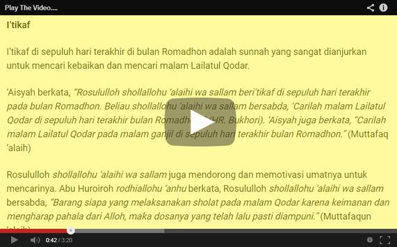 Panduan Ibadah Ramadhan 2017 apk screenshot