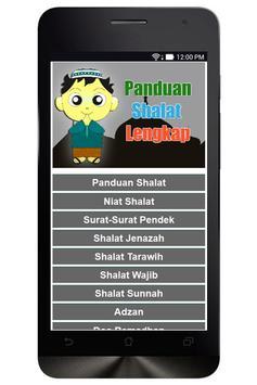 Panduan Sholat Lengkap poster