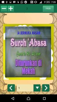 Hafalan Al Quran Surat Pendek screenshot 1