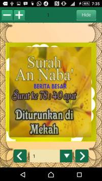 Hafalan Al Quran Surat Pendek screenshot 5