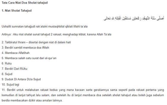 Download Panduan Sholat Tahajud dan Doa Sesuai Sunnah APK ...