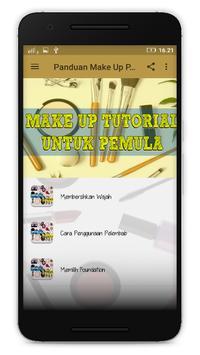 Panduan Make Up Pemula poster