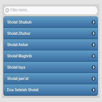 Panduan Sholat Fardhu Lengkap apk screenshot