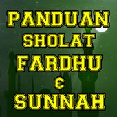 Panduan Sholat Fardhu & Sunnah Terlengkap icon