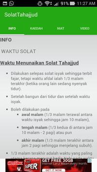 Panduan Solat Tahajjud screenshot 1