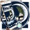 ikon Panda Moon Night Theme