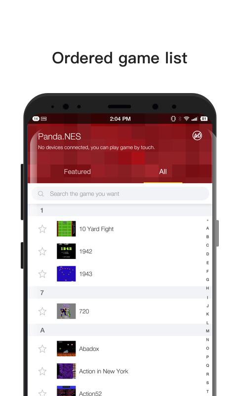 Panda NES - NES Emulator for Android - APK Download