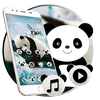 Cute Natural Panda Theme أيقونة