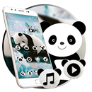 Cute Natural Panda Theme-APK