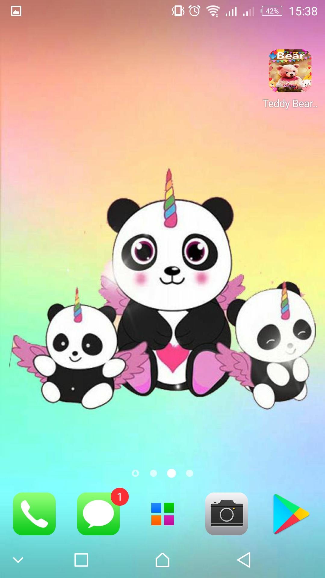 Panda Wallpapers Kawaii Cute Pandicorn For Android Apk Download