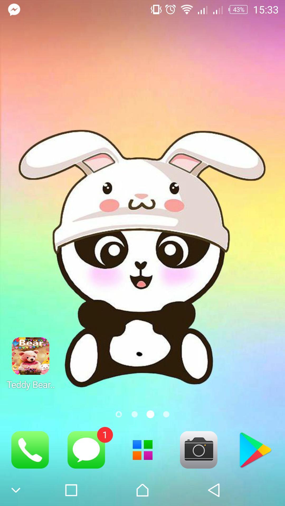 Panda Wallpapers Kawaii Cute Pandicorn For Android Apk Download
