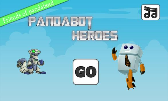 Pandabot Heroes poster