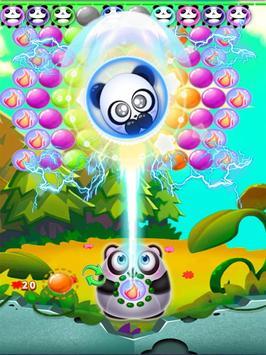 PANDA BUBBLE BAMBOO poster