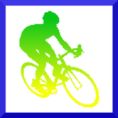 Cycling game icon