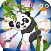 Panda Jungle Pop Match 3 pro 2018 icon