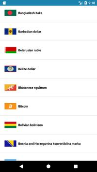 money currency converter screenshot 1