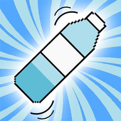 2D Water Bottle Flip icon