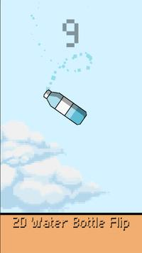 2D Water Bottle Flip poster