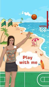 Bouncy Basketball Hoops Arcade Adventure poster