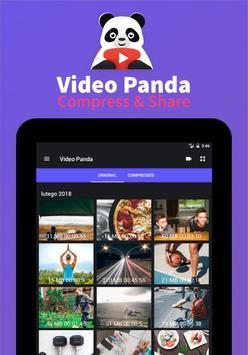 Panda Video Compressor: Movie & Video Resizer (Unreleased) screenshot 8
