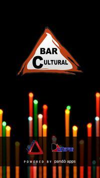 Bar Cultural poster