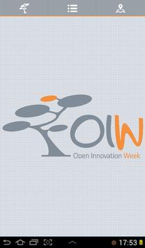 Open Innovation Week poster
