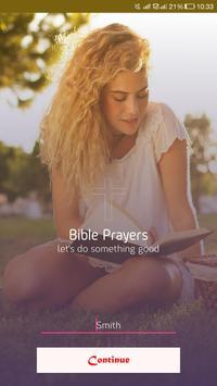 Life Changing Bible Prayers poster