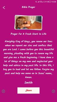 Life Changing Bible Prayers screenshot 3