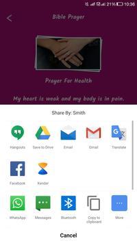 Life Changing Bible Prayers apk screenshot